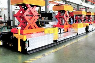 Electric Scissors Dual Lift Assembly AGV