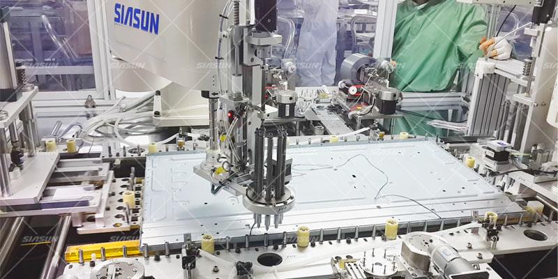 Electronics assembly system
